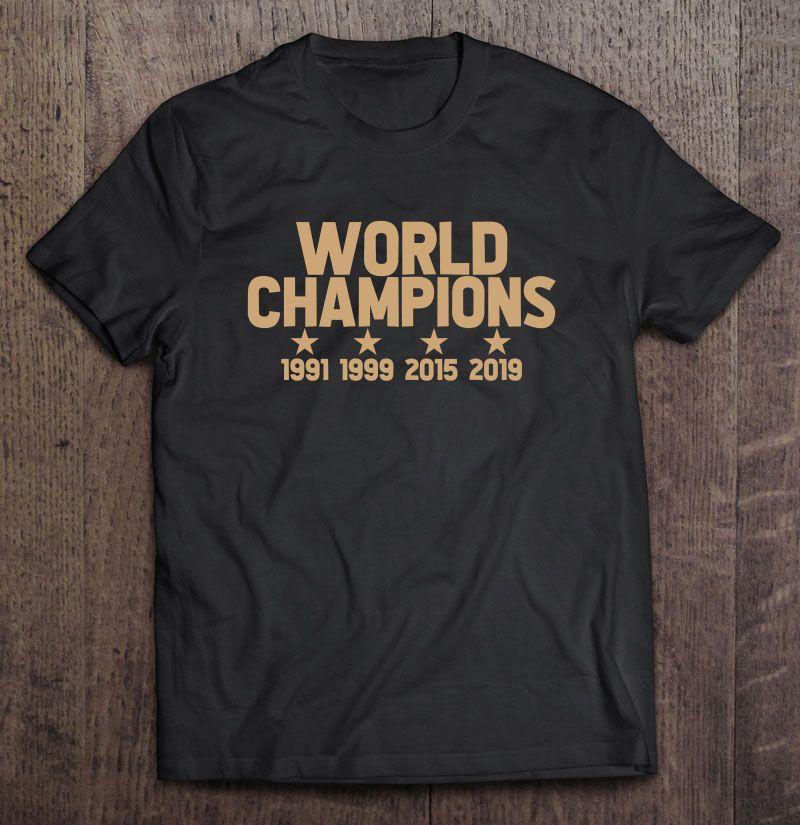 the best attitude d0bcc 3ffce World Champions 1991 1999 2015 2019 USWNT - T-shirts | TeeHerivar