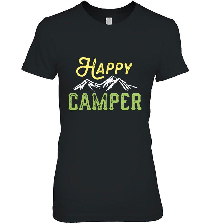 Happy Camper Mountain Version Hoodie