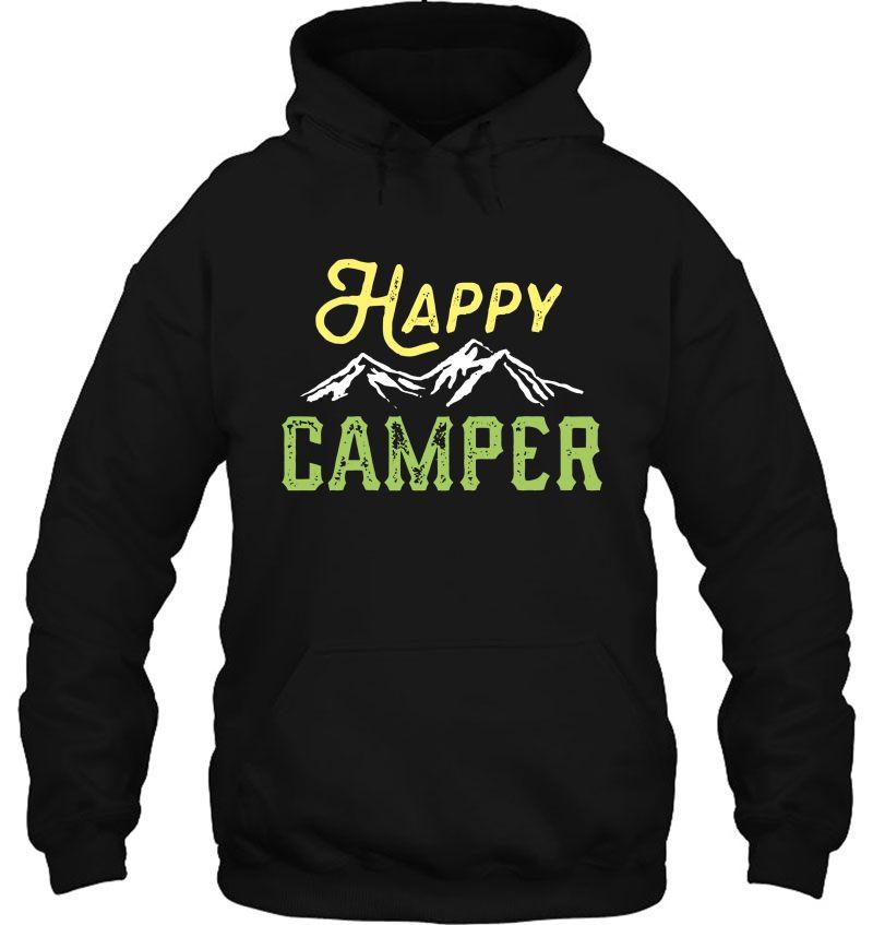 Happy Camper Mountain Version Mugs