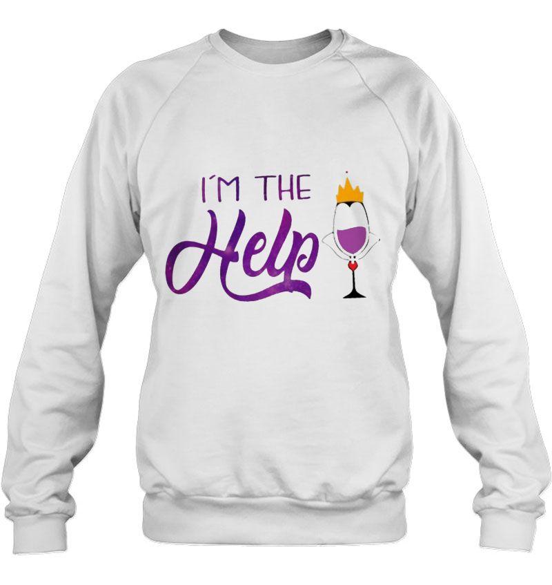 I'm The Help Maleficent Wine Version Mugs