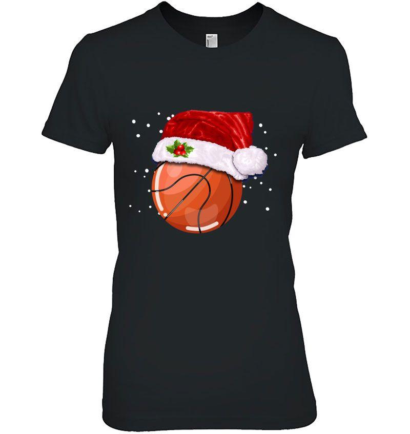 Basketball Santa Hat Christmas Version Hoodie