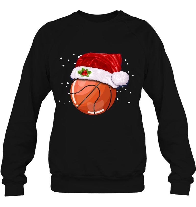 Basketball Santa Hat Christmas Version Mugs