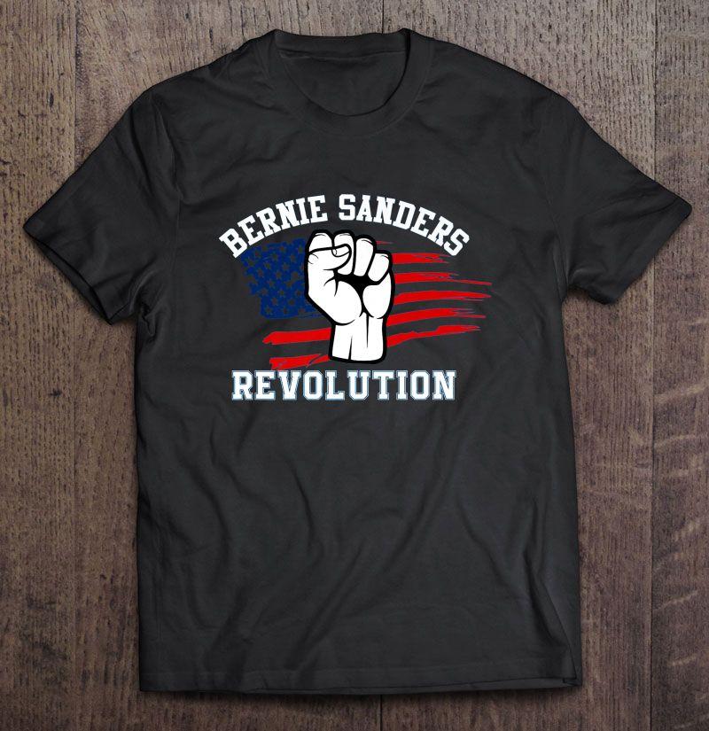 Bernie Sanders Revolution – Unisex T Shirt Black Size 3XL, bernie sanders tshirt