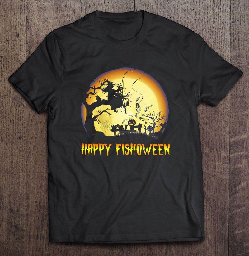 Happy Fishoween Fishing Halloween Shirt