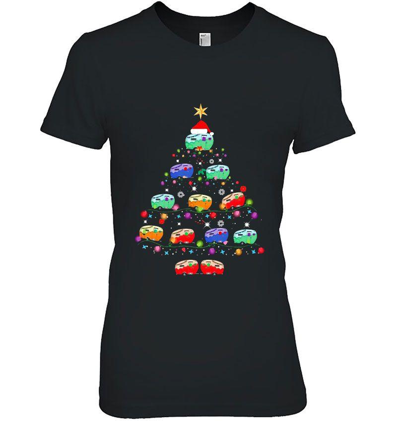 Christmas Camping Car Tree Version Hoodie
