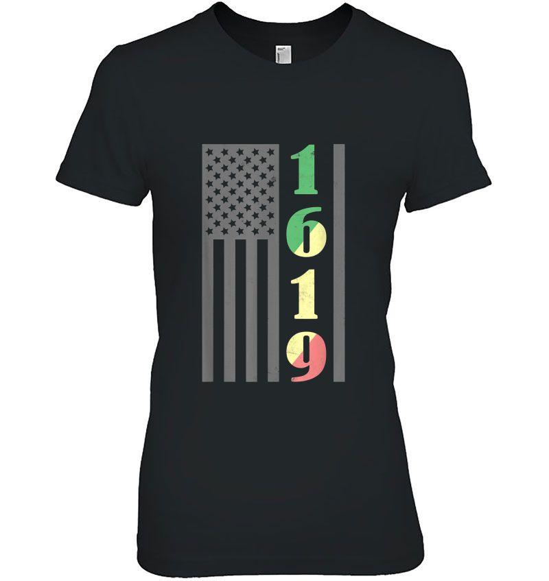 1619 American Flag Version Hoodie