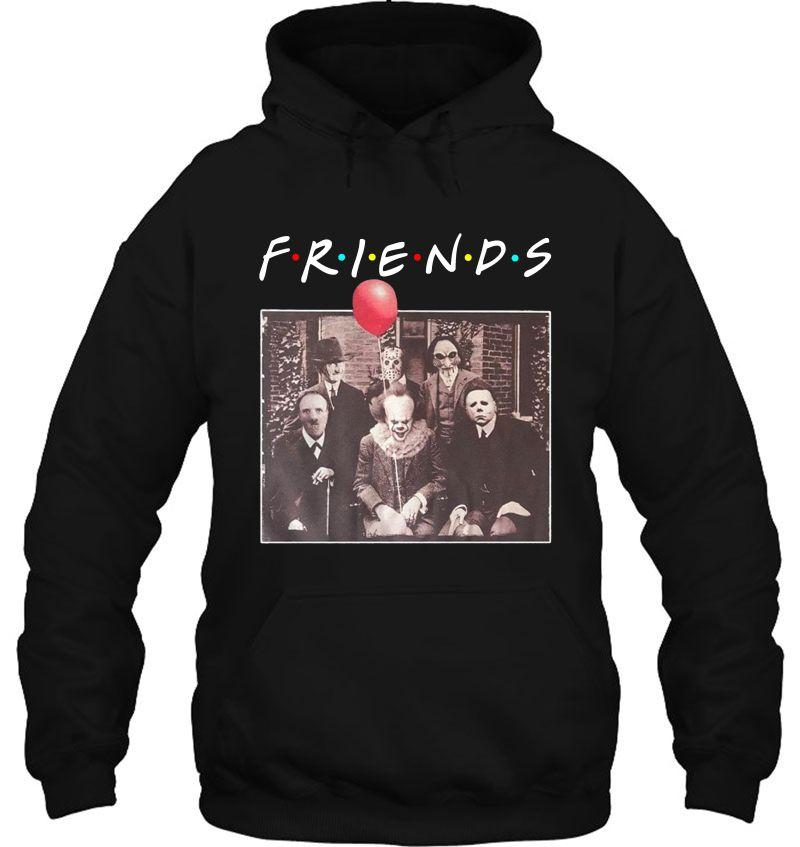 Friends Horror Characters Pennywise Freddy Krueger Jason Voorhees Michael Myers Halloween Mugs