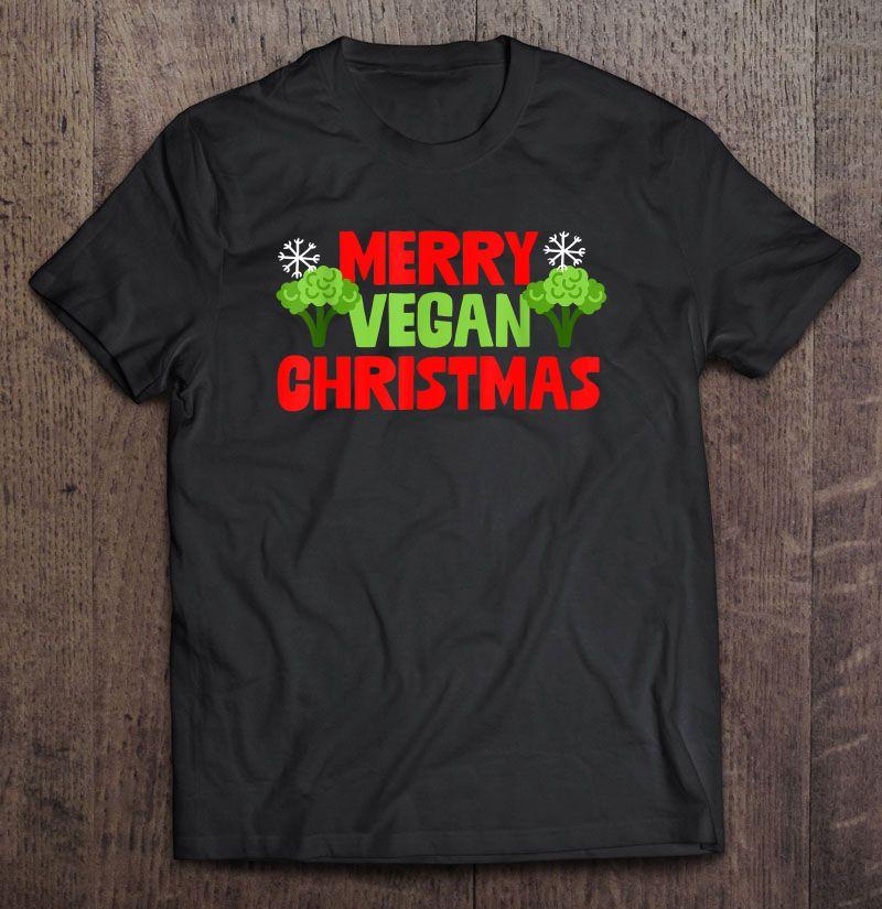 Merry Vegan Christmas Shirt