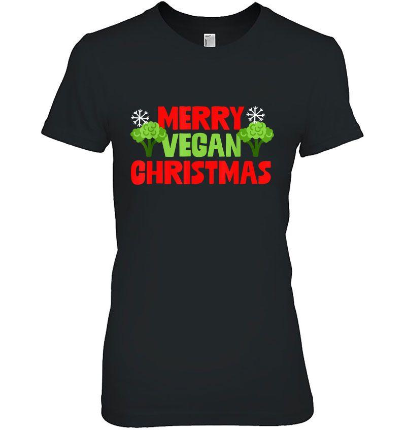 Merry Vegan Christmas Hoodie