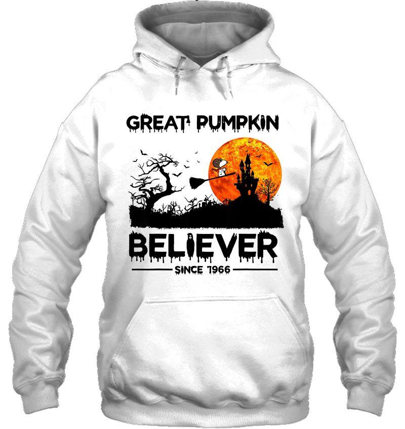 Great Pumpkin Believer Since 1966 Snoopy & Halloween Castle Version Mugs