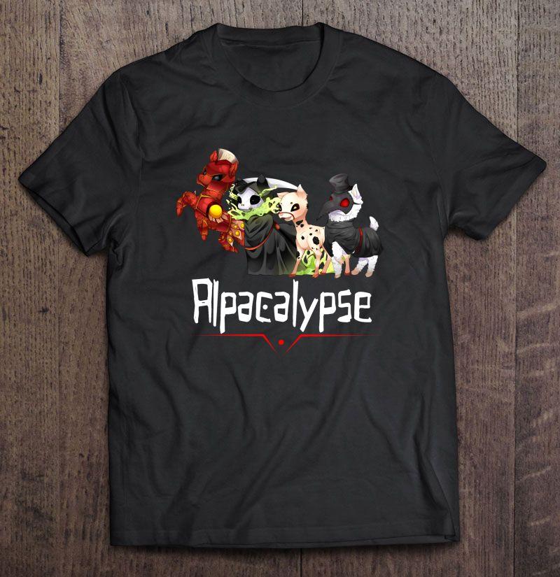 Alpacalypse Death War Plague Shirt