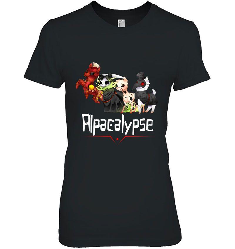 Alpacalypse Death War Plague Hoodie