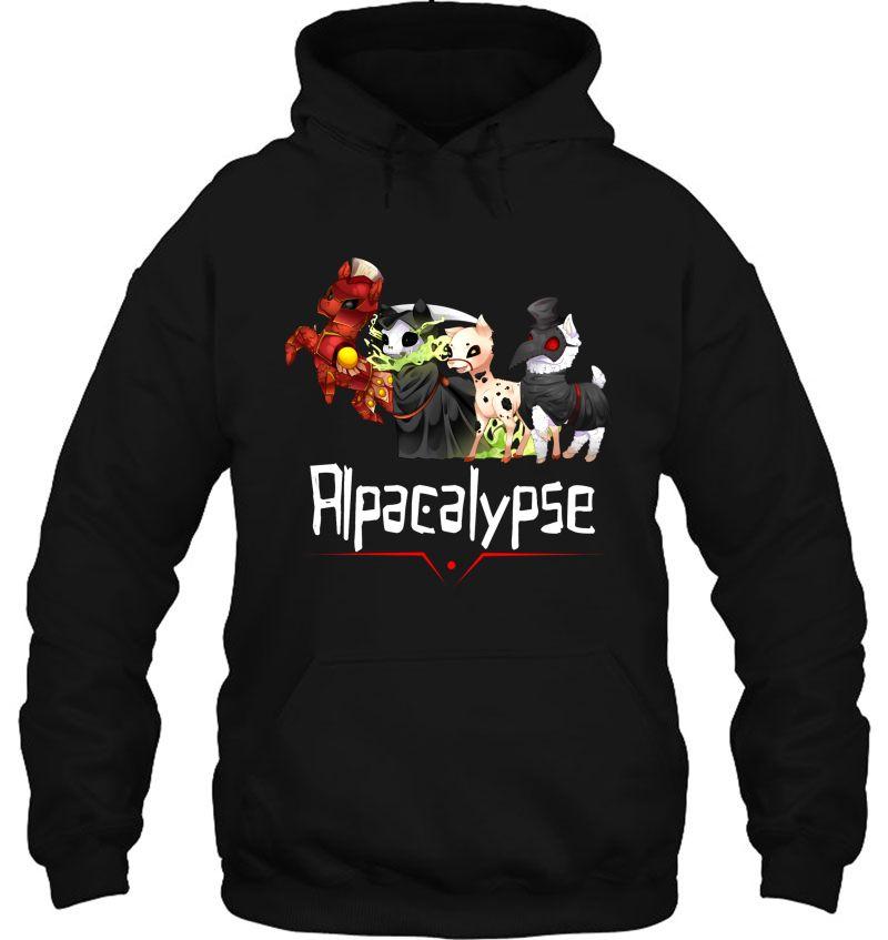 Alpacalypse Death War Plague Mugs