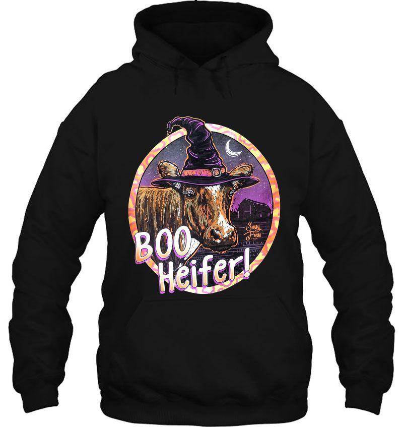 Boo Heifer Witch Heifer Halloween Mugs
