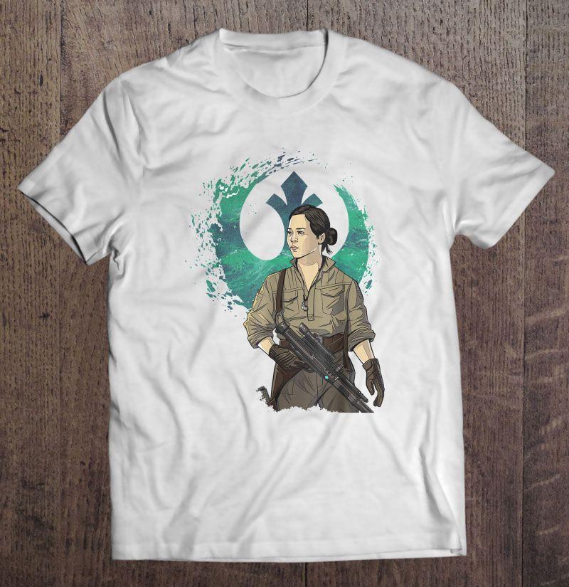 Star Wars The Rise Of Skywalker Rose Tico T Shirts Teeherivar