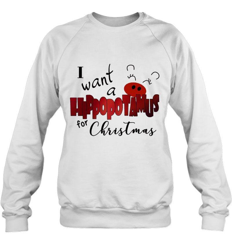 I Want A Hippopotamus For Christmas White Version Mugs