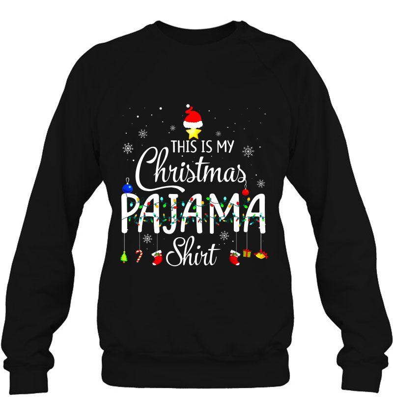 This Is My Christmas Pajama Shirt Christmas Lights Version2 Mugs