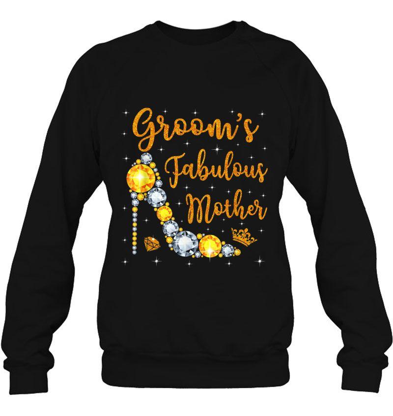 Groom's Fabulous Mother Diamond High Heels Version Mugs