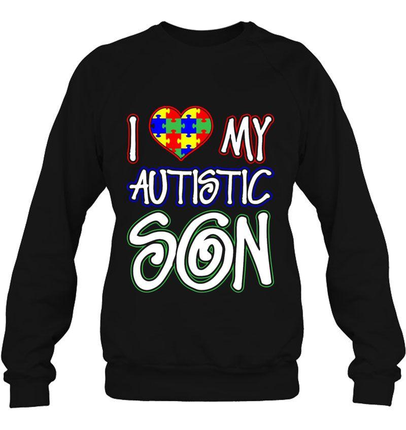 KH5GJ-25 Mens Autism Awareness American Flag Short Sleeves Polo Tee Shirt