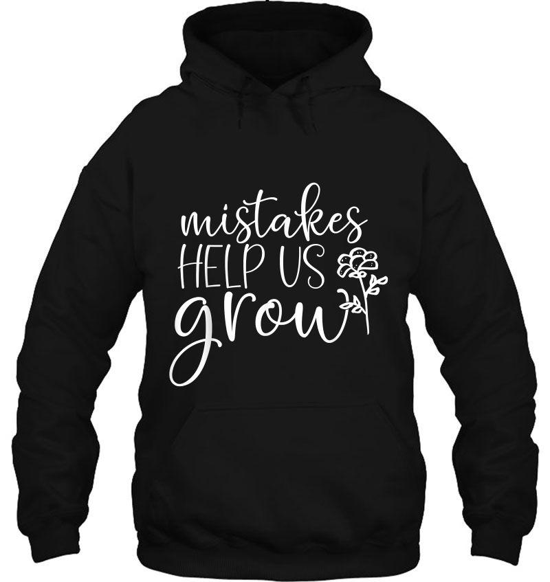 Mistakes Help Us Grow Growth Mindset Teacher Mugs