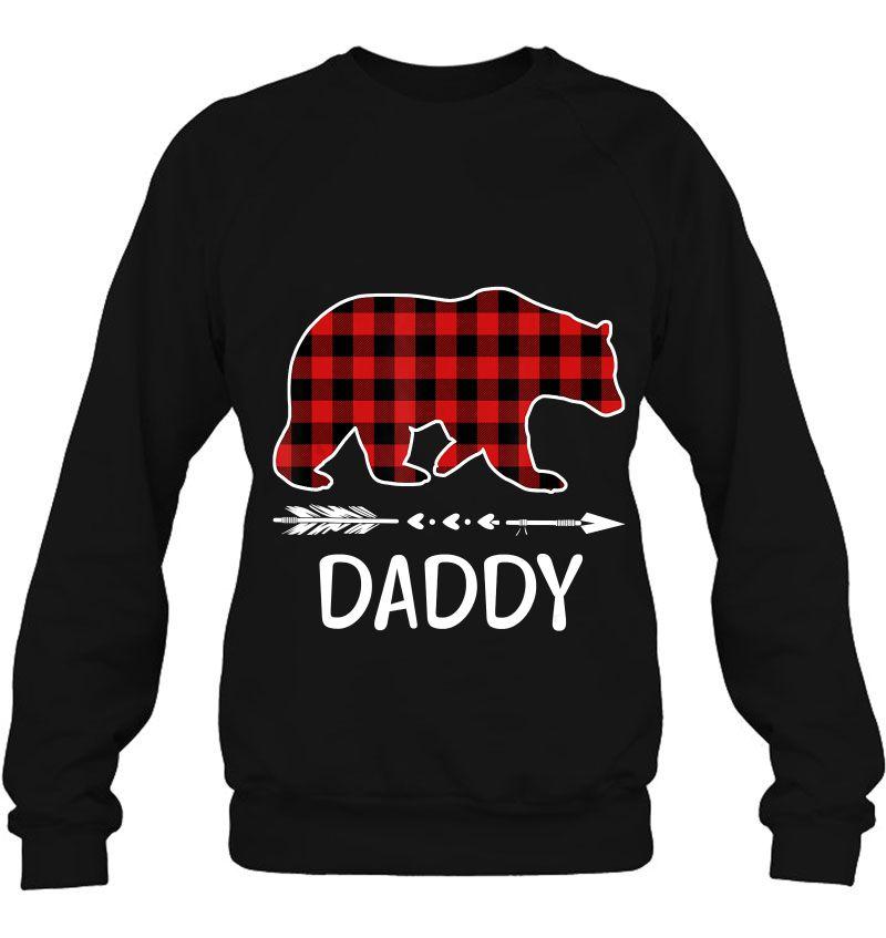 Daddy Red Plaid Bear Version Mugs