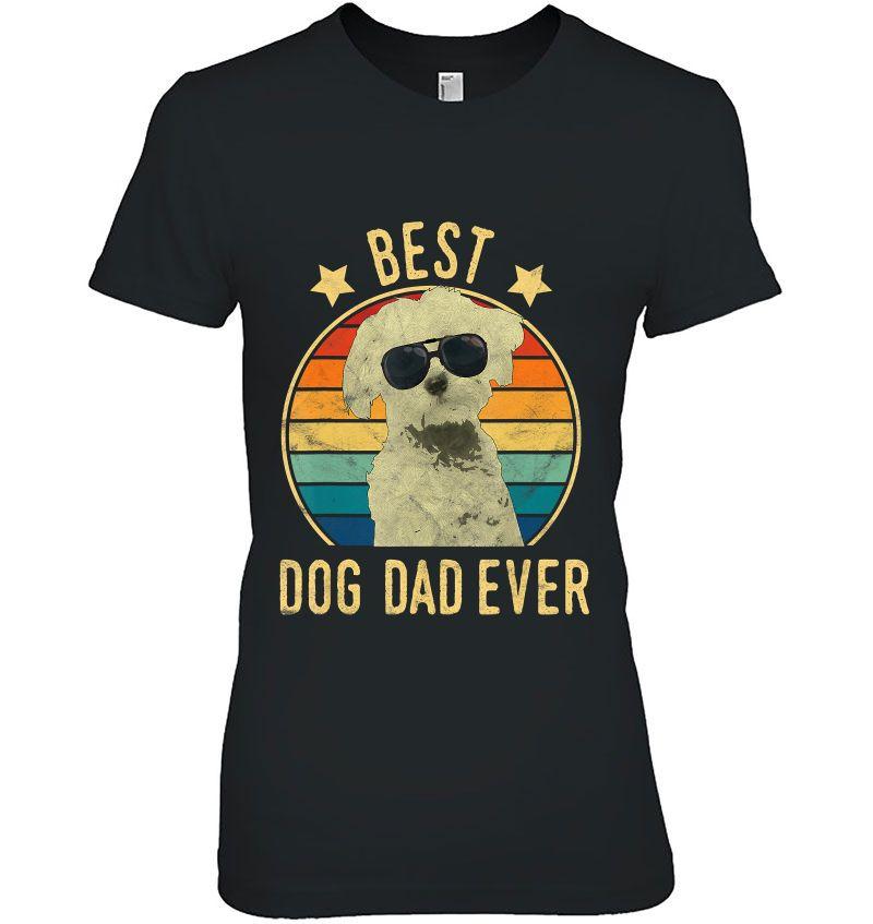 Best Dog Dad Ever Maltese Vintage Version Hoodie