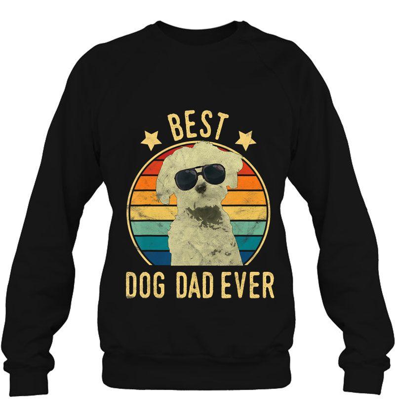 Best Dog Dad Ever Maltese Vintage Version Mugs