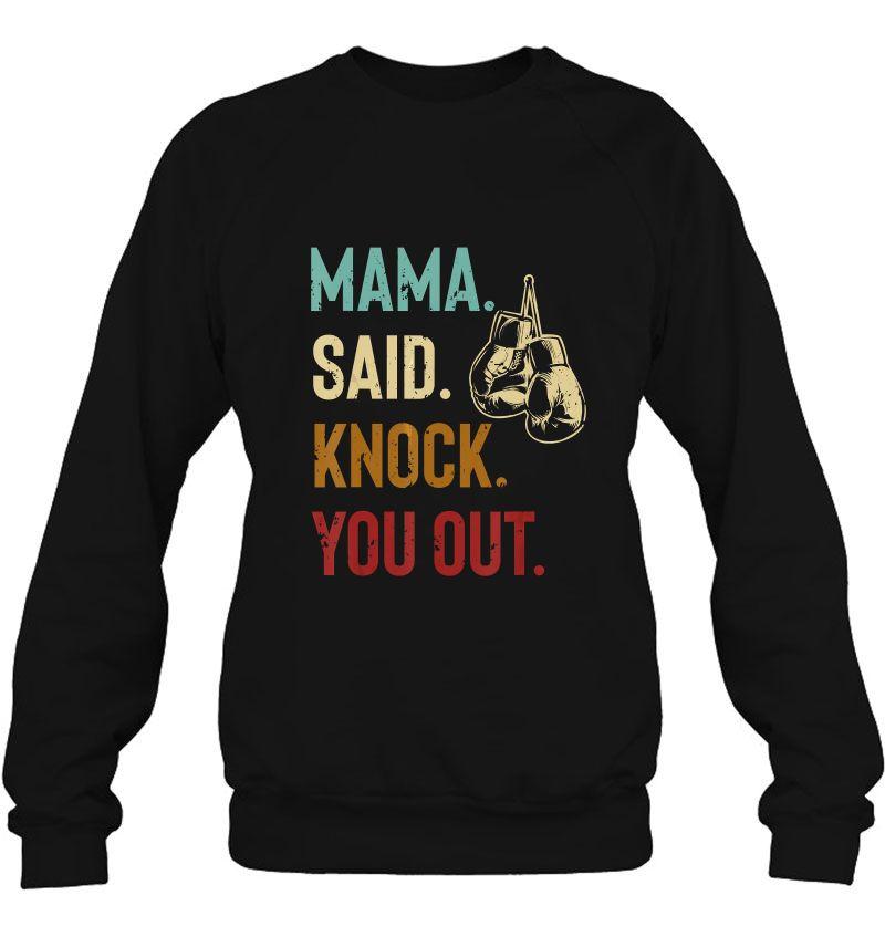 Mama Said Knock You Out Vintage Version Mugs