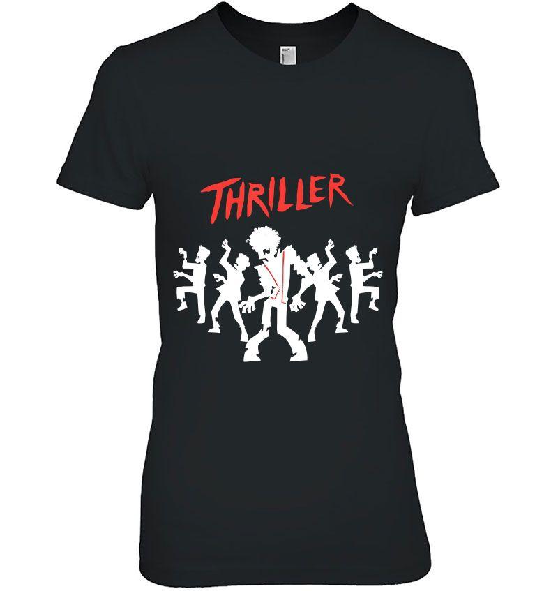 Thriller Dance Funny Halloween Hoodie