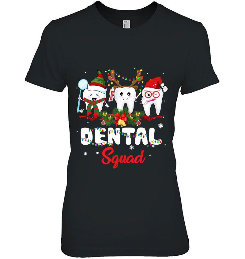Dental Squad Dentist Christmas Hoodie