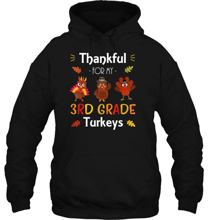 Thankful For My 3rd Grade Turkeys Version2 Mugs