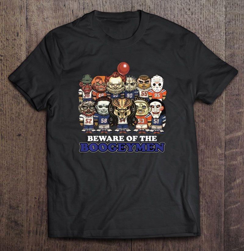 Beware Of The Boogeymen Horror Halloween Version Shirt
