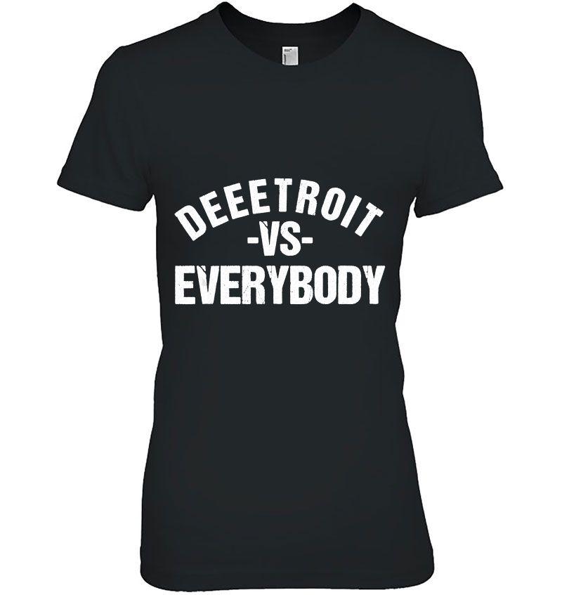 Deeetroit VS Everybody Hoodie