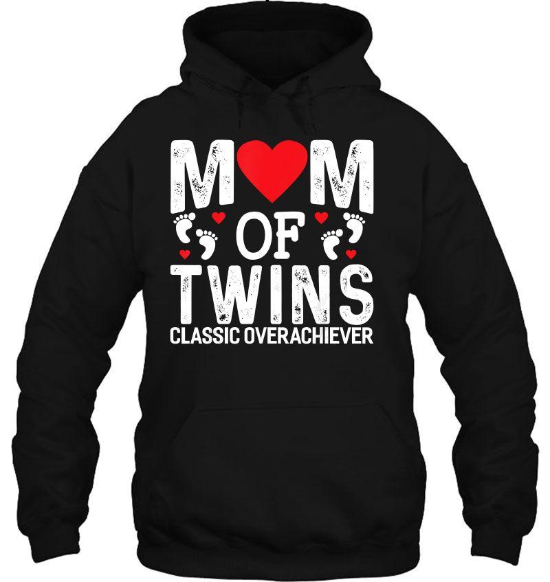 Mom Of Twins Classic Overachiever Mugs
