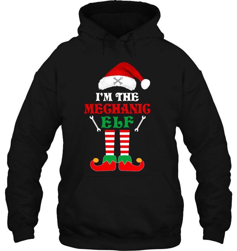 I'm The Mechanic Elf Christmas Santa Hat Version Mugs