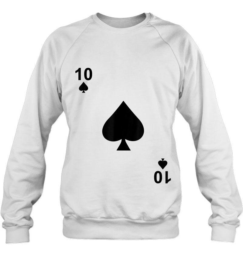Ten Of Spades Blackjack Playing Cards Mugs