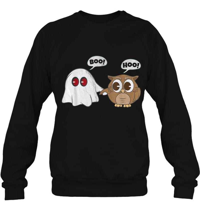 Boo Hoo Owl Ghost Halloween Mugs