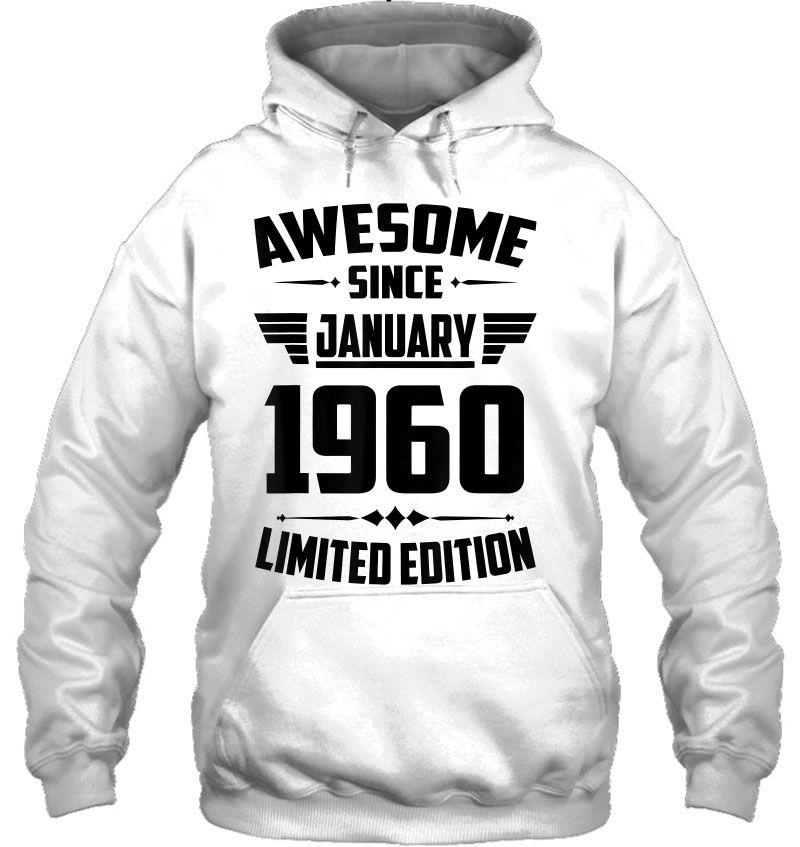 Awesome Since January 1960 Limited Edition Mugs