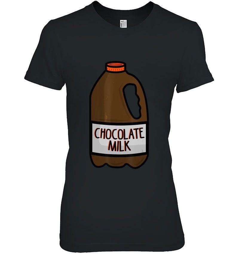 Chocolate Milk Halloween Costume Hoodie