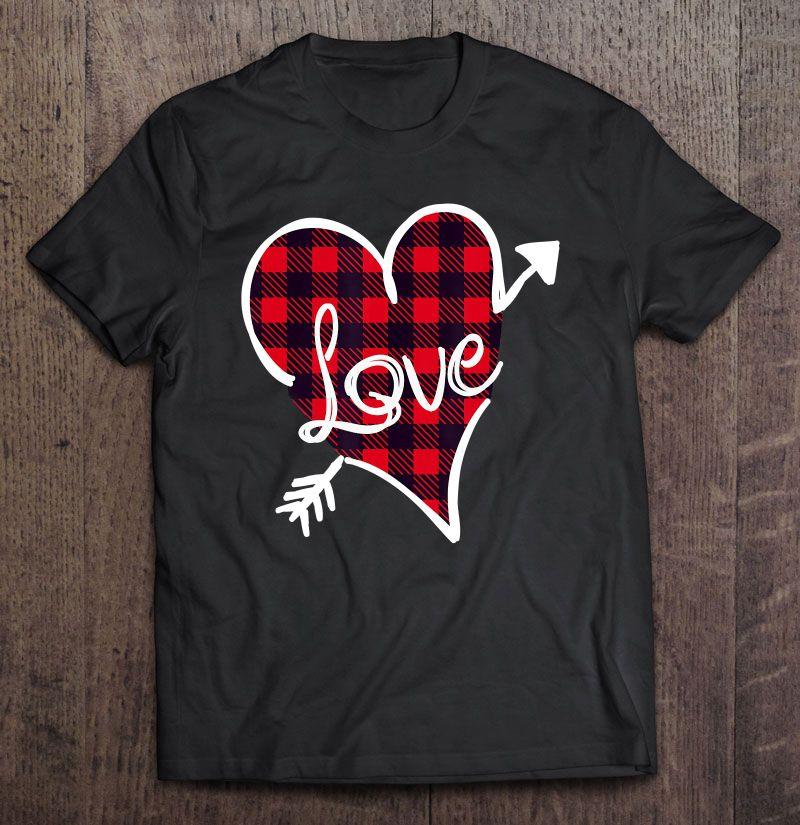 I Love Heart Buffalo Ladies T-Shirt