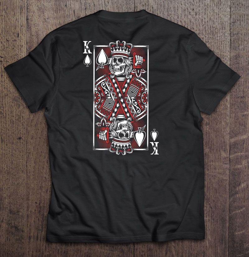 King Play Card Shirt