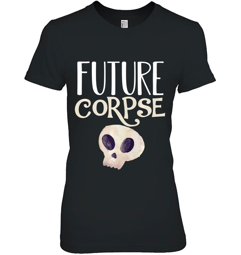 Future Corpse Funny Skull Skeleton Halloween Horror Costume Premium Hoodie