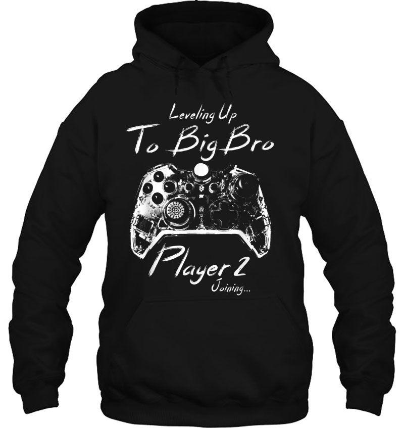 Leveling Up To Big Bro Player 2 Mugs
