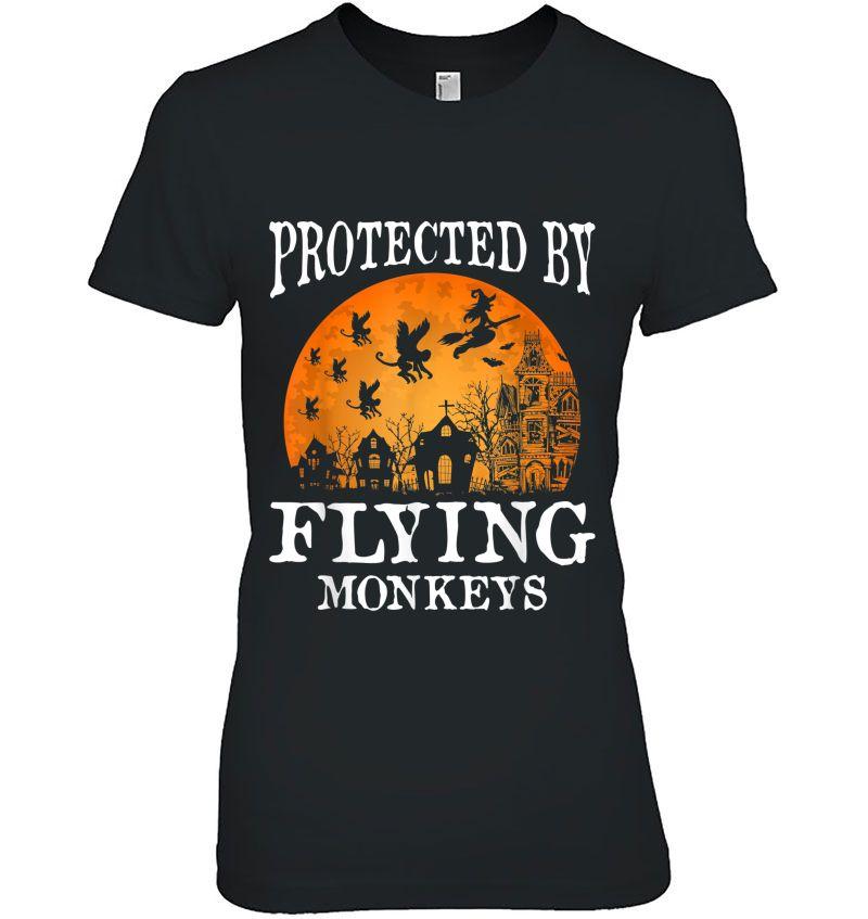 Protected By Flying Monkeys Hoodie