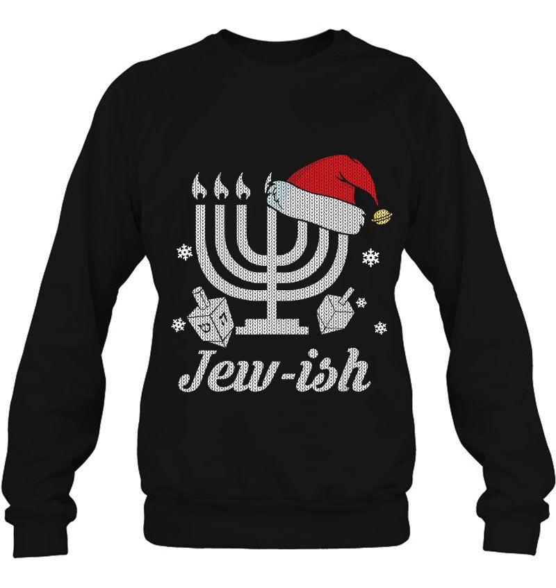 Menorah Santa Hat Jewish Mugs