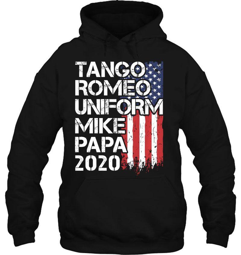 Donald Trump 2020 Cool Military Veteran Phonetic Alphabet T Shirts Teeherivar