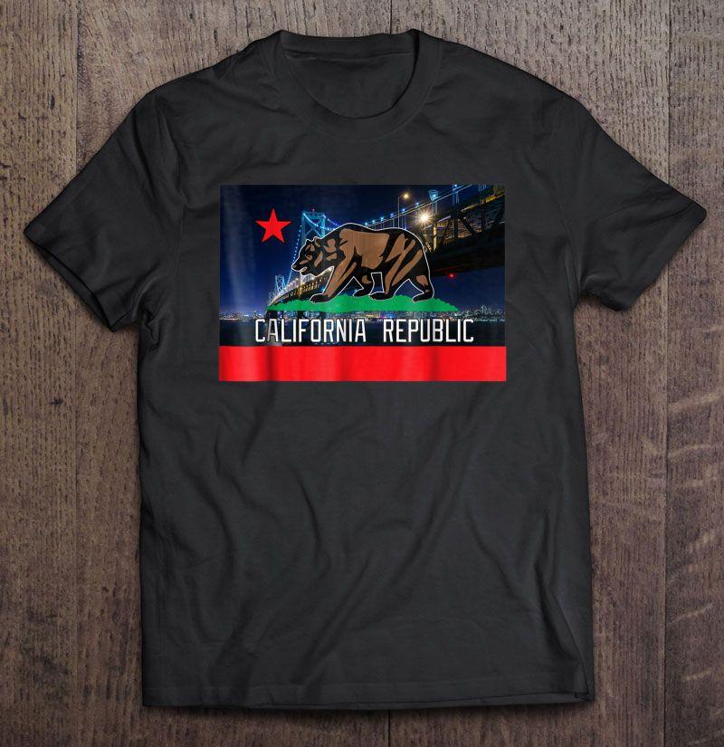 CaliDesign Boys California Republic Tank Top T-shirt