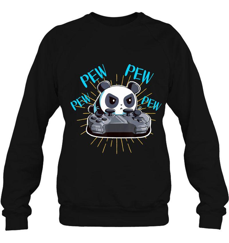 Funny Gamer Pew Pew Panda Mugs