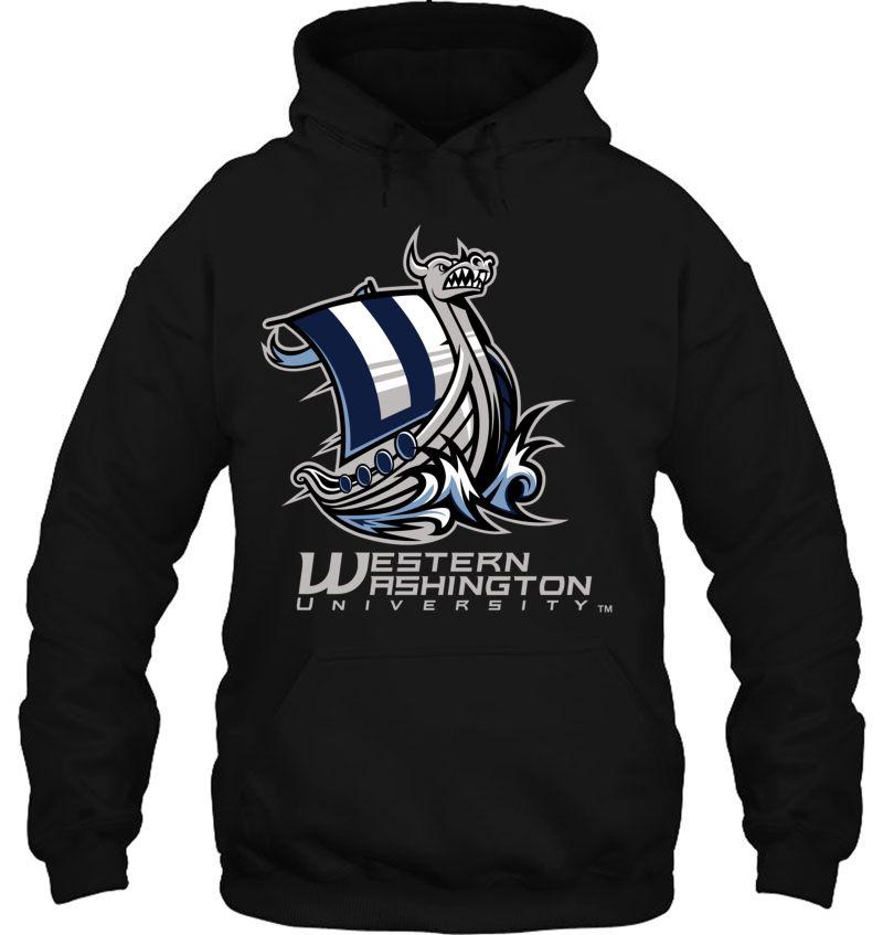 University of Western Washington Vikings WWU NCAA College Hoodie Sweatshirt S M L XL 2XL