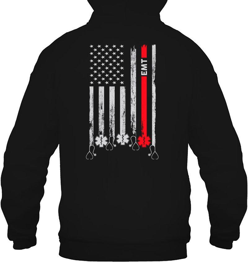 EMT Emergency Medical Technician American Flag Version Mugs